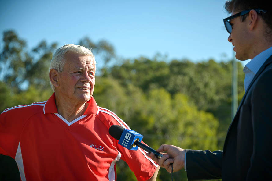 Horst's last game. Musgrave Gold Coast. Photo: Stephan Bollinger.